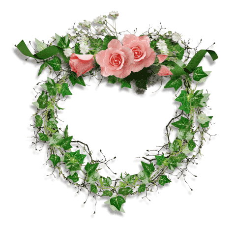 Hermoso Marco Sin Fondo Marcos Con Flores Para Ninas Sobre Un Fondo